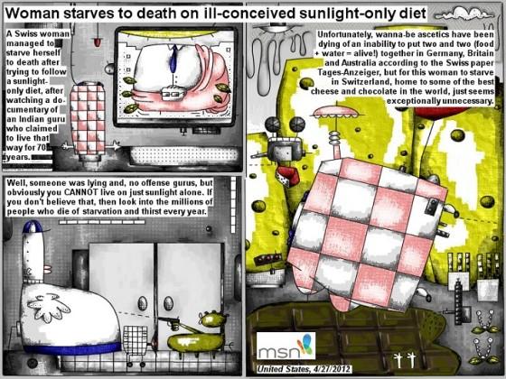 sunlight diet
